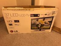 LG 37 inch Ultra Slim LED Full HD TV with Freeview HD, 4 hdmi, 3 usb, AV, Scart, etc