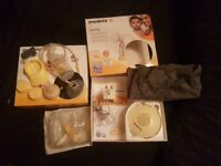 Medela Swing Single Electric Breast Pump, - New bottle and accessories included