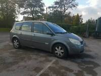 Diesel 7 Seats Renault Grand scenic with long mot ,drives well px welcome