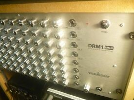 Vermona DRM1 MKIII Analog Drum Synthesiser Trigger Silver/Chrome version with 10xtrig inputs as new