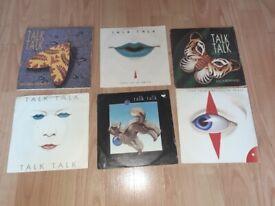 6 x talk talk vinyl singles 80s