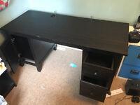Ikea Office Furniture - Hemnes Desks & Billy Kookcases