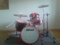 Drum Kit ddrum Diablo 5piece with Zildjian ZXT cymbals