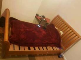 Double bed urgently sale