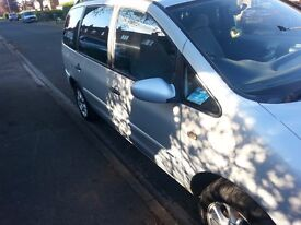 ford galaxy 1.9tdi diesel 7 seater 1 years mot