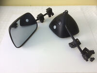 Caravan Extension Mirrors for towing - pair