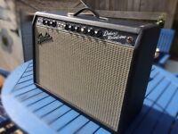 Fender 65 deluxe reverb - blackface reissue- just serviced