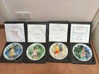 Paul Durand Children's Plate Collection Limited Edition production