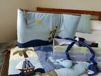 Coordinated cot bed