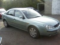 AUTOMATIC FORD MONDEO 2-0 LX DURATEC HE 5-DOOR 2001. 12 MONTHS MOT.