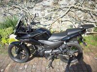 Honda CBF 125 M-D, 64 reg .