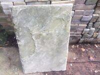 Original Victorian Weatherd Slabs 4 sq meters £100