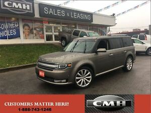 2013 Ford Flex LIMITED AWD 3X-ROOF NAV CAM LEATH *CERTIFIED*