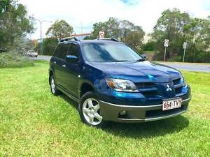 2003 Mitsubishi Outlander - 12 Months Warranty Included** Springwood Logan Area Preview