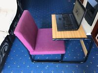 Laptop table and chair - strong and flexible(each available separately also)
