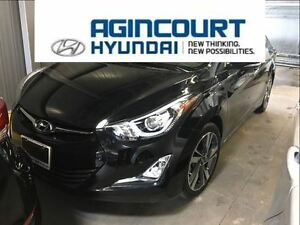 2015 Hyundai Elantra Limited/NAVI/LEATHER/SUNROOF/ONLY 26804KMS