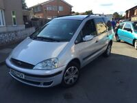 2003 ford Galaxy Zetec 7 seater auto 2.3 tax and MOT