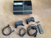 Playstation 3 80GB, with over 50 games, 2 controllers and HDMI cable