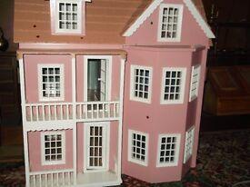 wooding dolls house