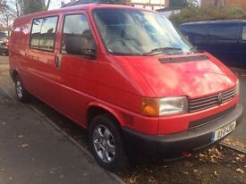 VOLKSWAGEN TRANSPORTER T4 KOMBI/CREW CAB ONLY ONE AVAILABEL AT THE MINUTE.
