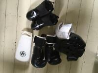 Child's martial arts protective kit