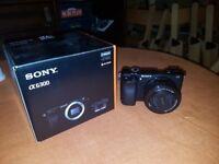 Sony a6300 w/ 16-50mm Kit lens & Sigma MC-11