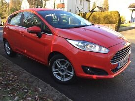 Ford Fiesta 1.5 TDCi Zetec 5dr Man 2014 (14 Reg) - Zero Road Tax Finance Arranged