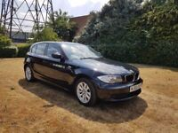 2010 BMW 118D ES,6 SPEED MANUAL,1 FORMER KEEPER,2 KEYS,30 POUNDS TAX A YEAR!!!,07522564844