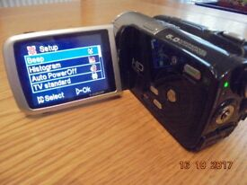 HD-DV Camcorder complete kit with charger and spare battery etc.