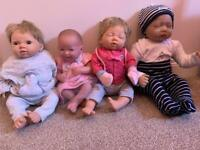 Dolls and clothes bundle