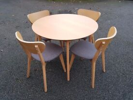 Round Dining Table & 4 Chairs FREE DELIVERY 268