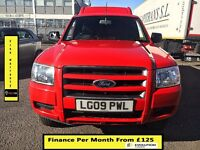 EASTER SALE!! REDUCED PRICE,Ford Ranger 2.5 Cab Pickup 4x4- 140BHP -52K Miles -1 Owner-FSH 7 STAMPS