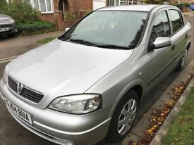 Vauxhall Astra Club 1598cc Petrol Automatic 5 door hatchback 04 Plate 01/03/2004 Silver