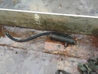 Hydraulic tipper ram