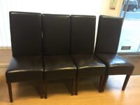 4 Reception chairs for Beauty salon