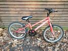 Apollo envy girls bike 20 in wheels, age 5+ single speed brakes all work as they should