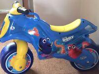 Disney Pixar Finding Dory Motorbike
