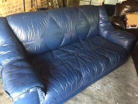 FREE 3 Seatee leather sofa