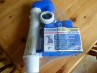 Toilet cistern syphon - Dudley Turbo 88 replacement 2 part syphon (New)