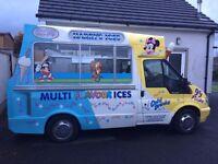 Icecream Van (hard scoop ice cream)