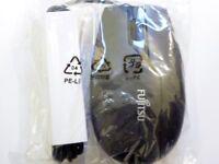 Fujitsu M480 - mouse - USB - black, anthracite