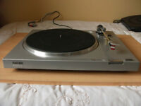 Sony PS-LX2 Direct Drive Turntable Record Player & Manual