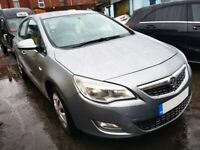 2010 VAUXHALL ASTRA EXCLUSIV (MANUAL/PETROL) SILVER LAKE GEV *BREAKING WHOLE VEHICLE*