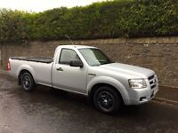 2007 model very rare single cab ford ranger 1 owner fsh only used as a car and for moto cross