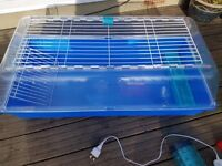 Zoo Zone Small Animal Cage ( Large - W51 x D100 x H37cm) and Accessories, pigmy hedgehog, rabbit etc