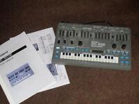 Roland MC-202 Vintage Analogue Synthesizer & Sequencer Rare Classic Acid Machine Like SH-101 TB-303
