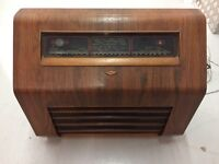 Kolster Brandes, period valve radio (decorative, not currently in working order)