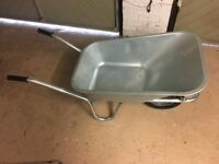 Wheelbarrow - 110 Litre, Unused, Galvanized, Bargain