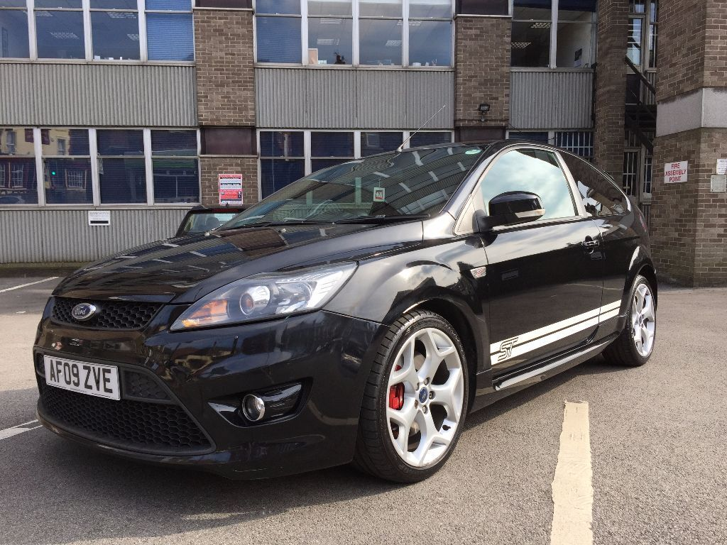 ford focus st st3 black 2009 great condition - Ford Focus 2009 Black