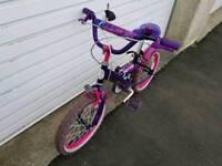 "16"" girl's bike"